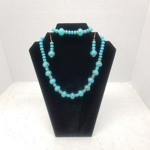 N/A Jewelry - SET OF NECKLACE, BRACELET AND EARRINGS